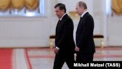 Мирзиёев Путин билан Москвада 5 апрель куни учрашган эди.