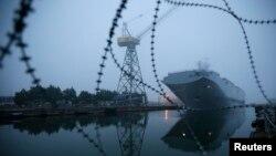 «Владивосток» – універсальний десантний корабель типу «Містраль», Франція, 25 листопада 2014 року