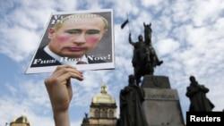 Protesti podrške u Češkoj republici