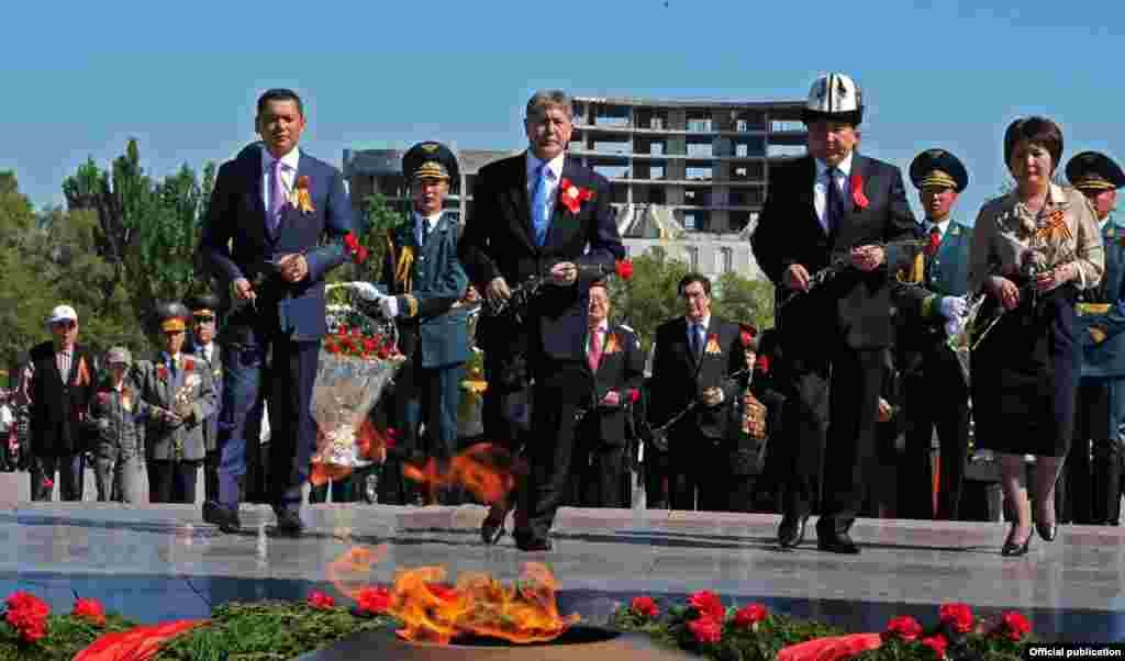 День Победы в Бишкеке
