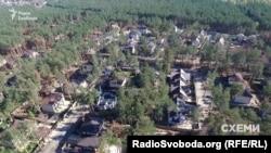 Лісова частина міста Бучі під Києвом