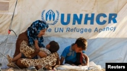 Refugjatë sirianë...
