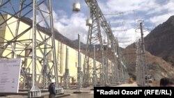 Тәжікстандағы Рогун ГЭС-і. 15 қараша 2018 жыл.