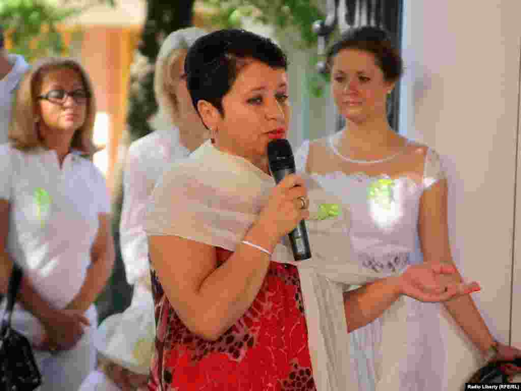 Ирина Виторган - за поддержку артистов.