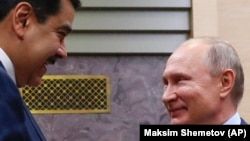 Nikolas Maduro i Vladimir Putin