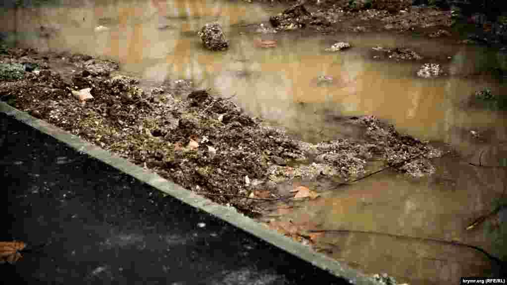 Вместо того к концу зимы 2018 года получили грязь и бардак