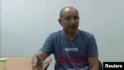 Андрей Захтей – кадр из видео, опубликованного ФСБ
