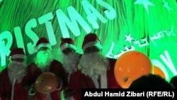 مسيحيون يحتفلون بعيد الميلاد في عينكاوه