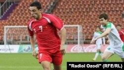 Tajikistan -- Dushanbe, Tursunali Rustamov football player,