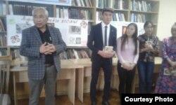Мидин Алыбаевдин 100 жылдыгына арналган иш-чара. Кыргыз улуттук китепканасы. 2017.