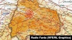 Eýranyň Türkmenistan bilen serhedinde 5.7 magnitudly ýer yranmasy boldy.