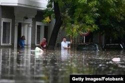 Наводнение в провинции Ла-Плата