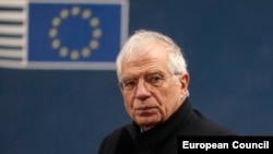 EU foreign policy chief Josep Borrell (file photo)