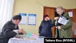 Сайлау учаскелерінің бірі. Молдова, 24 ақпан 2019 жыл.
