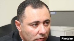 Armenia -- The newly appointed Labor and Social Affairs Minister Artur Grigorian, 29June 2010.