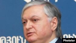 Министр иностранных дел Армении Эдвард Налбандян
