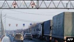 На российско-белорусской границе под Смоленском (30 ноября 2014 года)