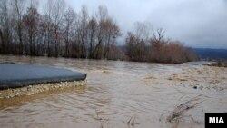 Архивска фотографија: Поплави во источна Македонија во 2013 година.