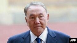 Букингем сарайына келген Қазақстан президенті Нұрсұлтан Назарбаев. Лондон, 4 қараша 2015 жыл.