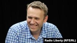 Российский оппозиционер Алексей Навальный в студии Радио Свобода. 28 мая 2015 года