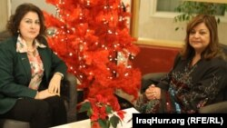حنان مع فريال حسين