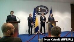 Predstavnici Bh. bloka u Sarajevu na konferenciji za novinare