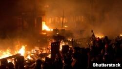 Протистояння у центрі Києва. 18 лютого 2014 року