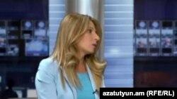ԱԺ «Ժառանգություն» խմբակցության ղեկավար Զարուհի Փոստանջյանը հարցազրույց է տալիս «Ազատությանը», արխիվ