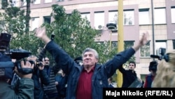Ilija Jurišić proslavlja oslobađenje u Tuzli, 11. oktobar 2010. godine