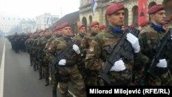 Defile tokom obeležavanja Dana Republike Srpske