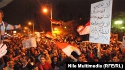 Египтяне протестуют против президента Мухаммеда Мурси. Каир, 4 декабря 2012 года.