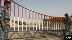 نقطة حدودية بين العراق وإيران في محافظة البصرة