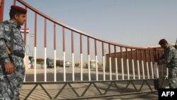 نقطة حدودية عراقية