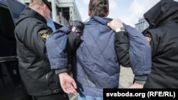 About 130 other people were detained during protests on March 25 against a controversial unemployment tax.