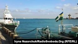 Кораблі Морської охорони в гавані порту Одеси