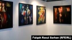 لوحات للفنانة بتول الفكيكي