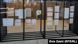 Dio postavke izložbe o holokaustu