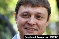 «Взгляд» газетінің бас редакторы Игорь Винявский. Алматы, 30 қыркүйек 2009 жыл.