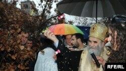 Mitropolit Amfilohije za pravoslavni Božić u Crnoj Gori, Foto: Savo Prelević