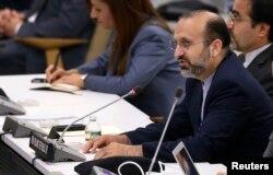 Ходадад Сейфі критикує виступ прем'єра Ізраїлю на сесії Генасамблеї ООН, 1 жовтня 2013 року