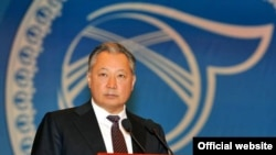 Қырғызстанның бұрынғы президенті Құрманбек Бакиев. 2010 жыл. наруыз