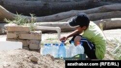 Agyz suwuny geçirýän turba, Türkmenistan