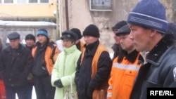 Москва. Рабочие-мигранты из Киргизии
