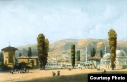 Карло Боссоли. Ханский дворец. 1840-е годы