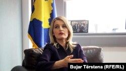 Ministrja e Integrimeve Evropiane në Qeverinë e Kosovës, Dhurata Hoxha