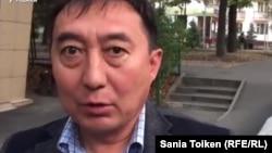 Галым Нурпеисов, адвокат Шухрата Кибирова. Алматы, 26 сентября 2017 года.
