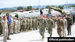 Admirali James Foggo III, në ceremoninë soleme të 20 vjetorit të çlirimit të Kosovës