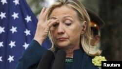 ABŞ dövlət katibi Hillary Clinton, 20 oktyabr 2011