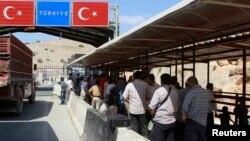مرز ترکیه و سوریه در استان ادلب