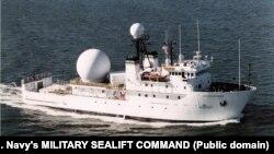 Корабель ВМС США Invincible вистежує пуски і траєкторії балістичних та інших ракет